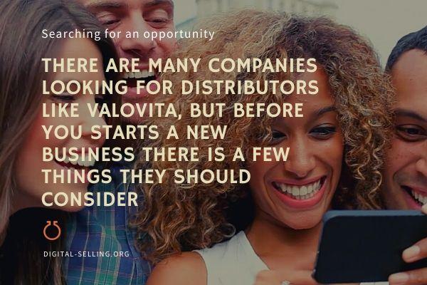 Companies looking for distributors