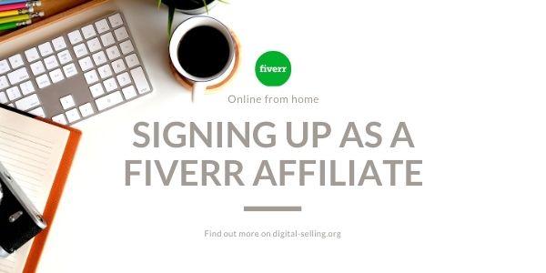 Fiverr affiliate