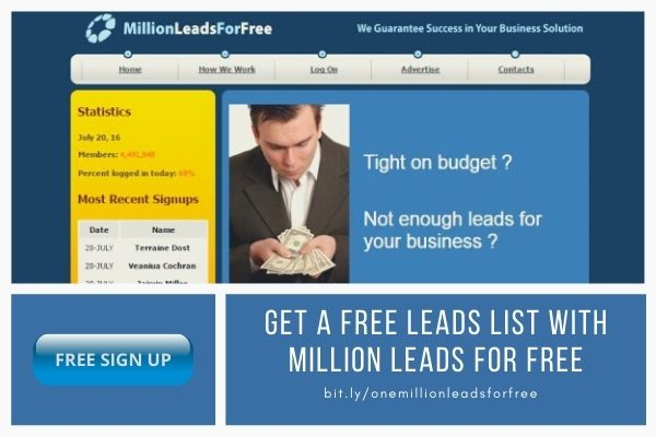 Free leads list