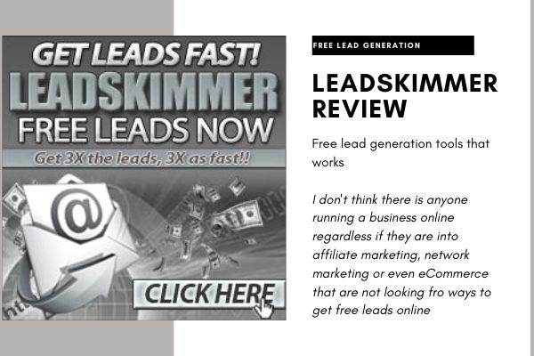 LeadSkimmer review