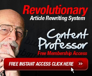 Content Professor – All in one article spinning wizard