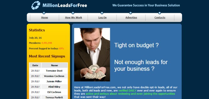 Million Leads For Free