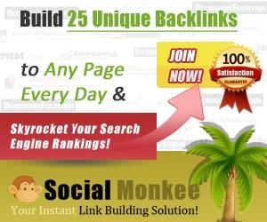 SocialMonkee – Backlink generator plugin